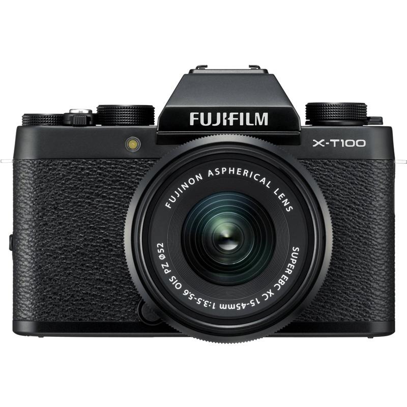 fujifilm x t100 kit 15 45 mm toko kamera surabaya harga kamera jual kamera mirrorless. Black Bedroom Furniture Sets. Home Design Ideas