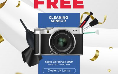 Event FREE Cleaning Sensor FUJIFILM!!!