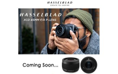 COMING SOON Hasselblad XCD 45mm F4 Lens