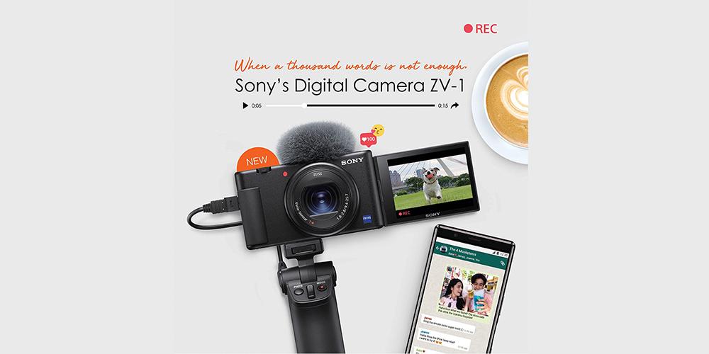 BREAKINGNews! Sony Luncurkan Kamera Digital ZV-1 TERBARU